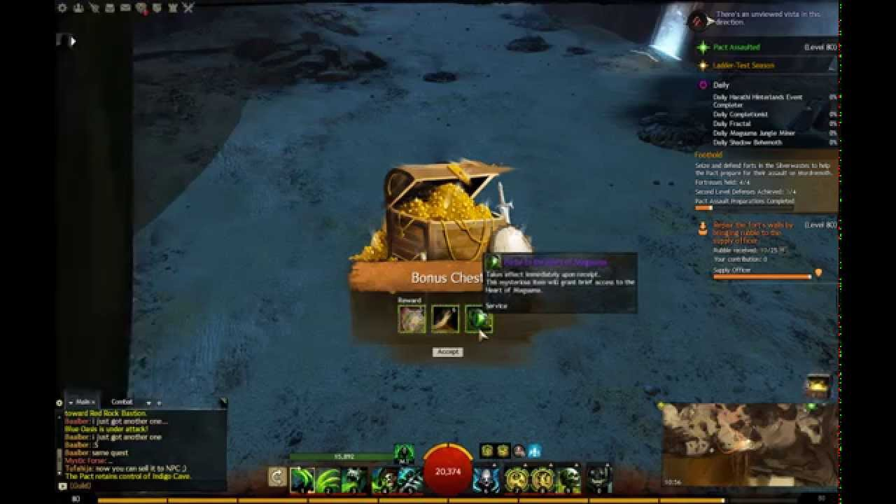 Guild Wars 2 finding 2x Portal to the heart of Maguuma beta - YouTube