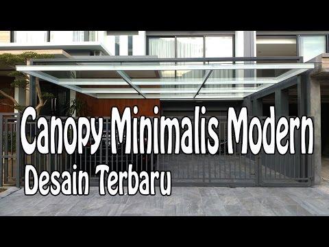 Kanopi Rumah Minimalis Modern Mewah