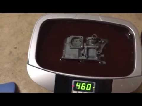VW 34 PICT 3 in Harborfreight Ultrasonic Cleaner