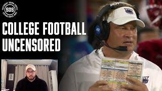 Schooner Crash, Lane Kiffin, SEC Refs, Joe Burrow | College Football Uncensored