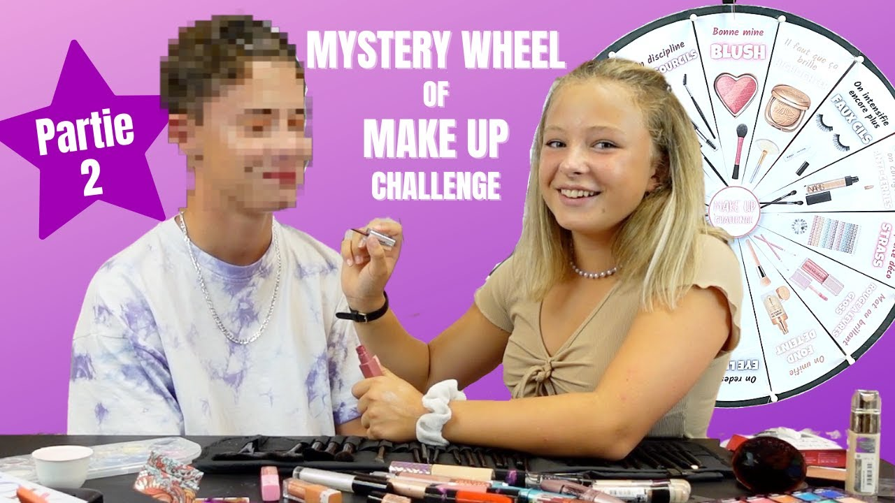 MYSTERY WHEEL OF MAKE UP CHALENGE Partie 2