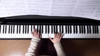 2016年2月20日 録画、 使用楽;月刊ピアノ2016年3月号、 楽譜へ記載の難...