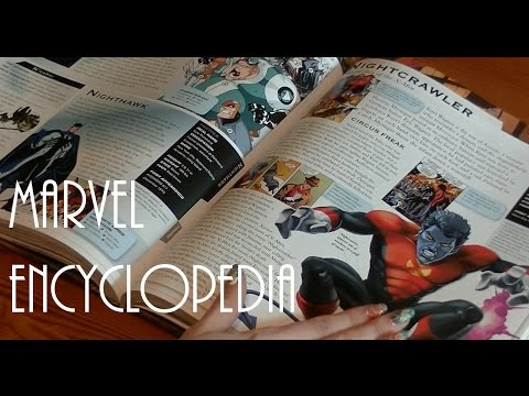 Marvel Encyclopedia (ASMR)