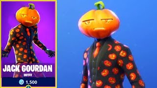 🎃JACK GOURDAN Skin Is Out! BEST SKIN!? NEW Fortnite ITEM SHOP - October 19th