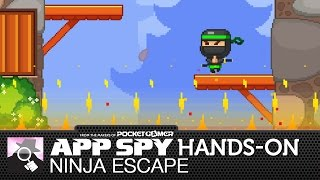 Ninja Escape | iOS iPhone / iPad Hands-On - AppSpy.com