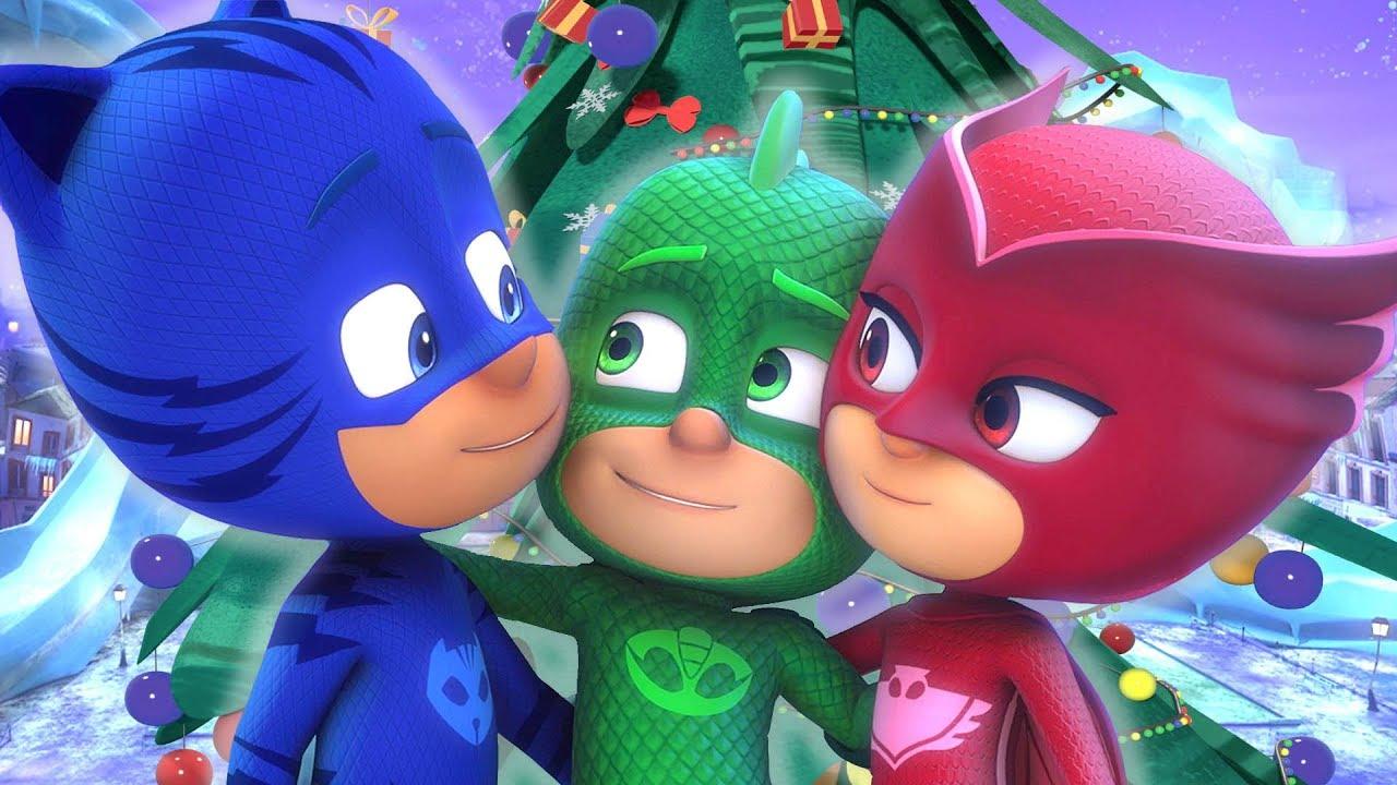 Pijamaskeliler Türkçe Mutlu Noeller   Klip Derlemesi | çizgi filmleri