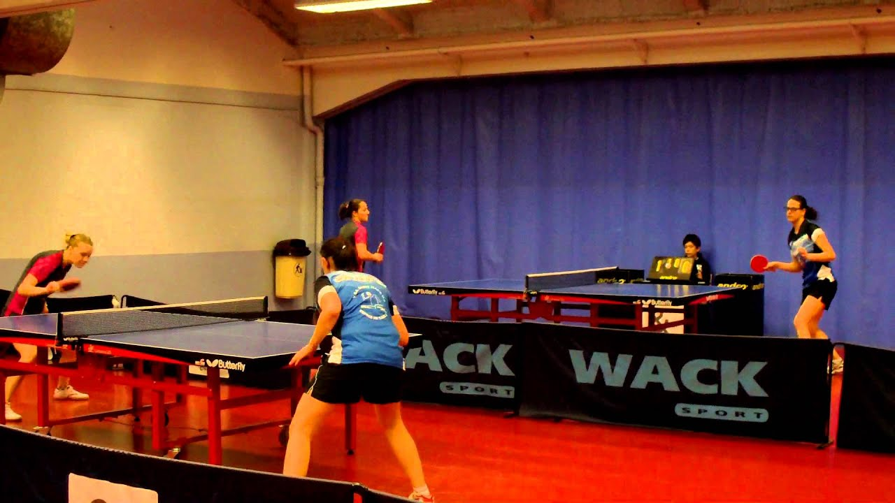 Wack Sport Tennis De Table Vga Tennis De Table N1 Contre Monceau