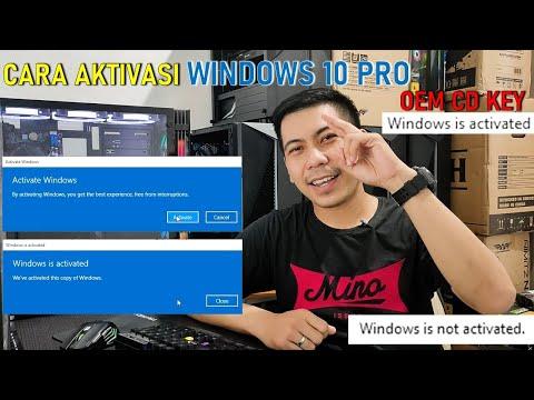 How Activation Windows 10 update 2019.