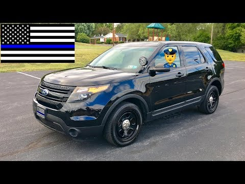 2015 Ford Police Interceptor Utility Explorer Drive and Review