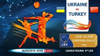 Golden European League (MEN) 2018 Ukraine - Turkey