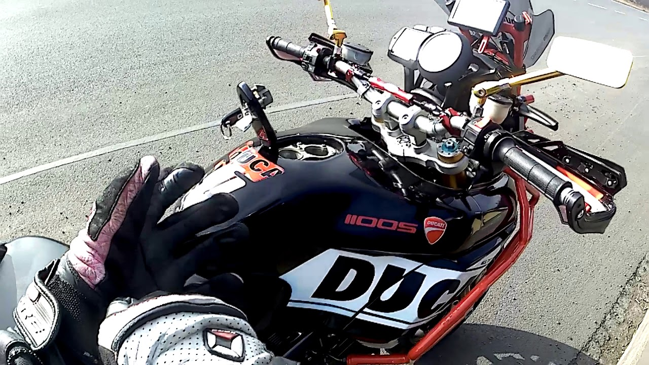 Ducati Multistrada 1000 1100, 2 in 1 full, low-mount right