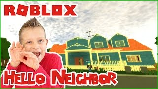 Hello Neighbor alpha 2 / Hide and Seek in Roblox