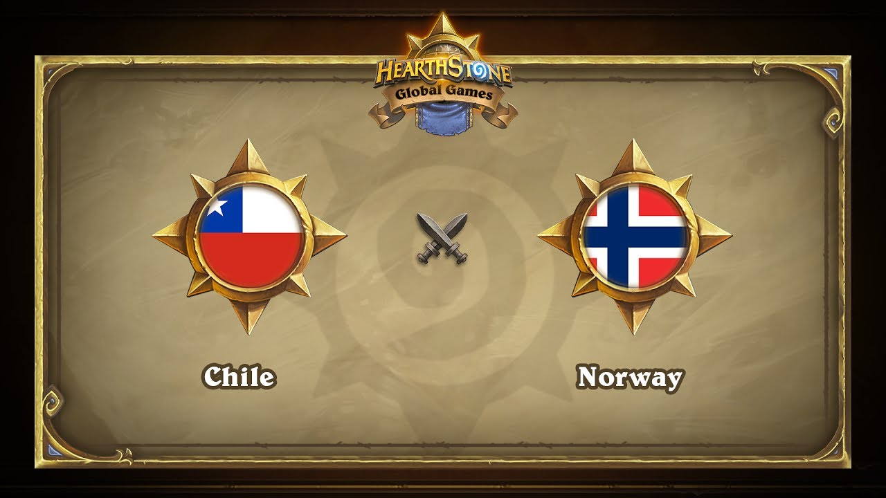 Чили vs Норвегия | Chile vs Norway | Hearthstone Global Games (24.05.2017)