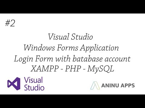 #3 Login and Register Form with database account (Visual Studio / VB) (With your API)