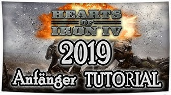 Hearts of Iron 4 Tutorial 2019 (Anfänger) - Symbole, Diplomatie, Handel, Grundlagen [Deutsch/German]