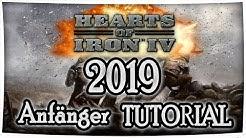 Hearts of Iron 4 Tutorial 2019 (Anfänger) - Symbole, Diplomatie, Handel, Grundlagen [Deutsch/German]