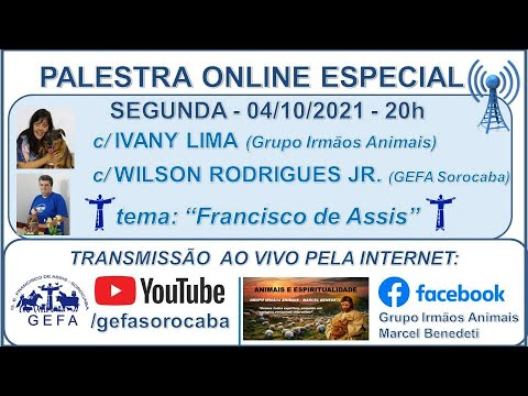 Assista: Palestra online - c/ IVANY LIMA (04/10/2021)