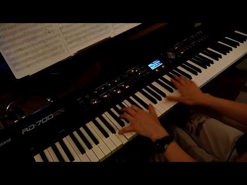 Pantera - Cemetery Gates - piano cover [HD]