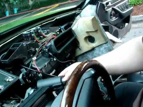 w140 steering lock  ignition switch problems youtube w140 fuse box location