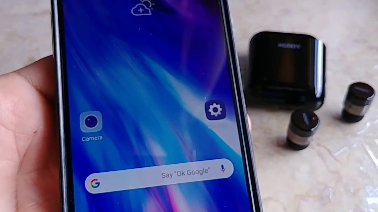 How to pair XGODY TWS Bluetooth 5 0 to LG G7 Android Phone