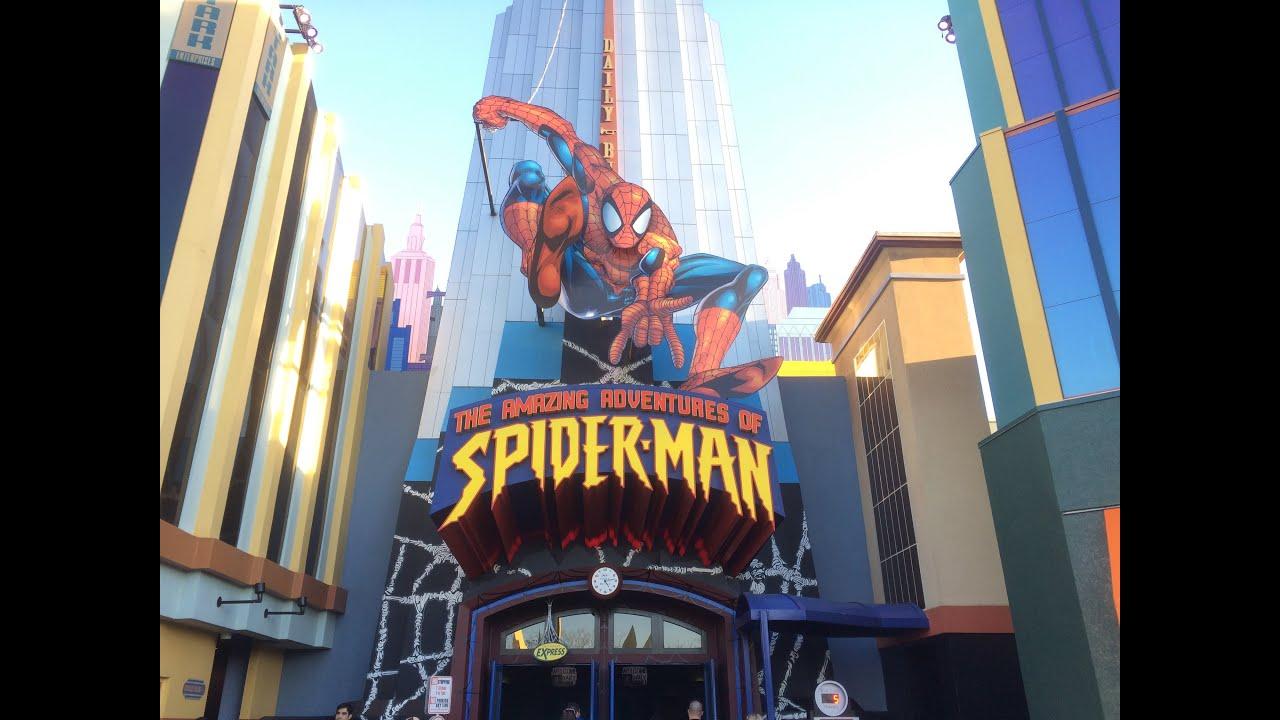 Universal Studios Islands Of Adventure The Amazing Adventures Of Spider Man