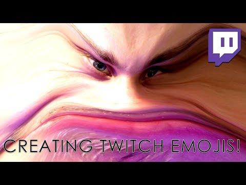 CREATING CUSTOM TWITCH EMOJIS | DAGames