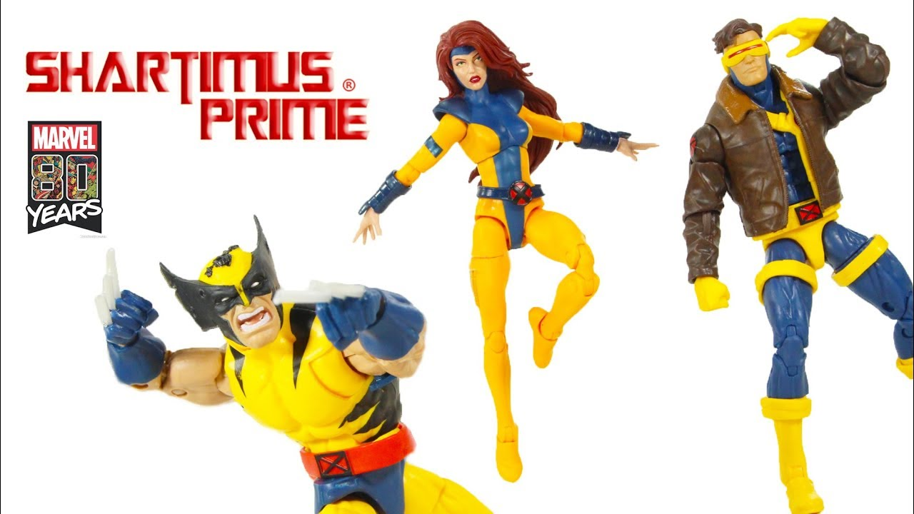 "Marvel Legends 80th Anniversary 80 Years 6/"" X-Men Love Triangle CYCLOPS NO BOX"