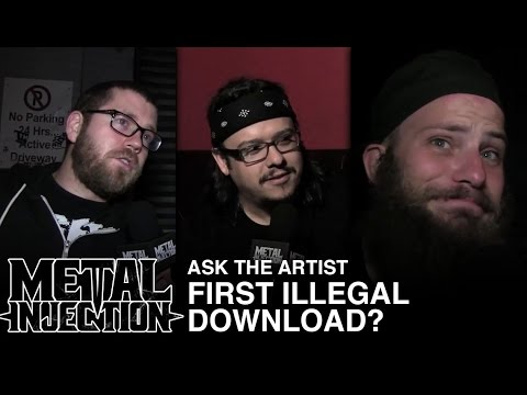 First Illegal Downloaded? | ASK THE ARTIST | Metal Injection