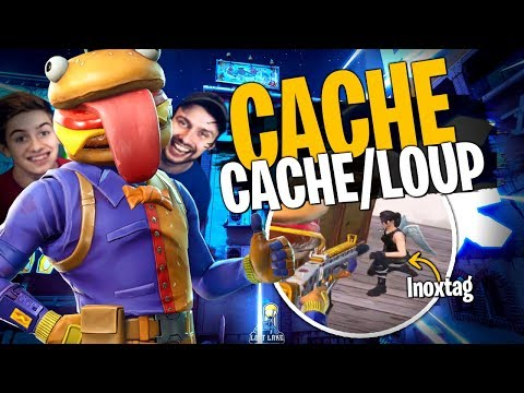 La meilleure Map Cache-Cache/Loup de Fortnite Créatif avec la Team Croûton