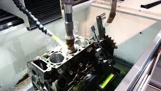 Хонинговка цилиндра Бц Ford Explorer 4.0 на ROTTLER H76