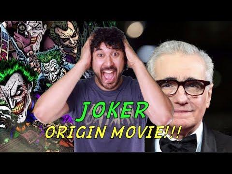 JOKER STAND ALONE ORIGIN MOVIE - Todd Phillips & Martin Scorsese (WHY I
