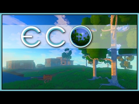 GREENER ON THE OTHER SIDE - ECO Gameplay [Let's Play Eco Game / Eco Gameplay]