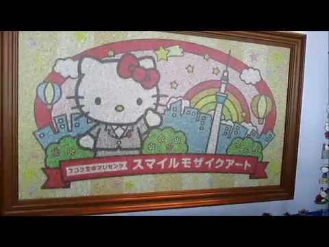 Hello Kitty (ハロー・キティ) artwork @ Tokyo Skytree (東京スカイツリー), Tokyo (東京), Japan (日本)
