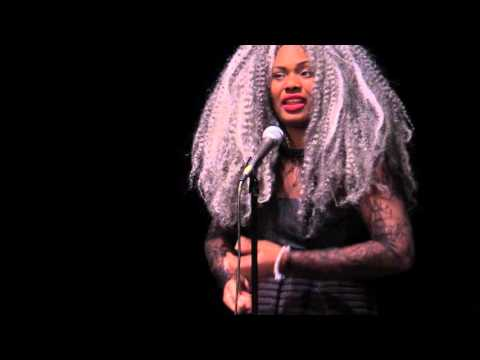 "Women of the World Poetry Slam Finals 2016 - Crystal Valentine ""Black Privilege"""