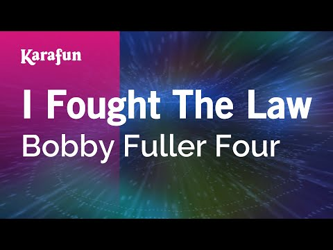 Karaoke I Fought The Law - Bobby Fuller Four *