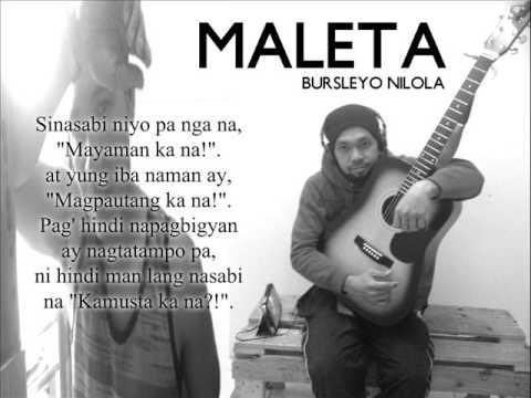 """OFW Song (Overseas Filipino Workers): """"MALETA"""" by Nissimac Eternal (BURSLEYO NILOLA)"""