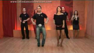 Видео: Bachata lesson 2 from Latin Dance Alive