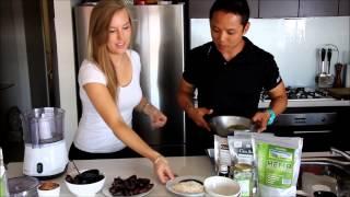 Raw Vegan Hemp Protein Bars