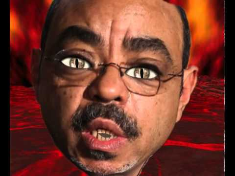 Meles Zenawi's reincarnated as little girl