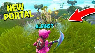 *NEW* Fortnite MOISTY PORTAL is WEIRD?! (JUST FOUND!) | Fortnite Battle Royale Gameplay