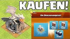 DRACHENSTATUE KAUFEN! 💰 Clash of Clans ⭐️ CoC