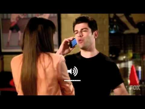Schmidt calls Nick - New girl
