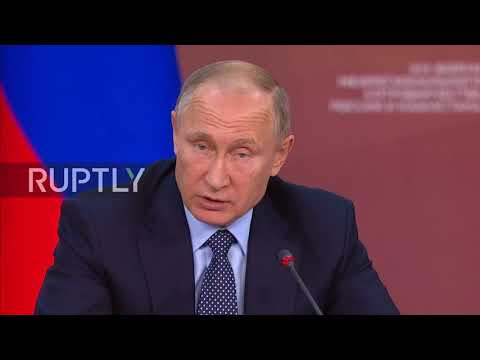 Russia: Putin lauds Kazakh efforts in resolving Syrian conflict
