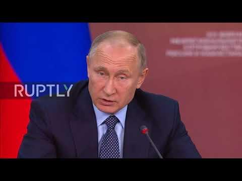 Russia: Putin lauds