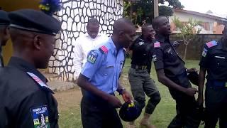 Nigeria Police Academy: Nigeria Police Academy (NPA) Cadets Jubilating