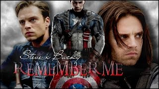 ►Steve ✗ Bucky :: Please, remember me