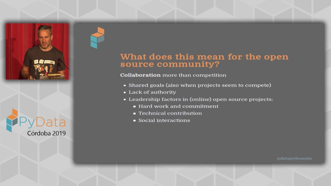 Image from Marc Garcia: A better PyData ecosystem, one commit at a time | PyData Córdoba