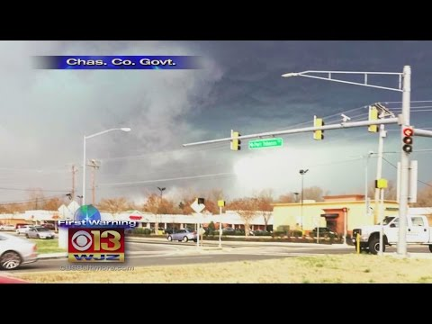 Rare February Tornado Touched Down In Charles County Saturday