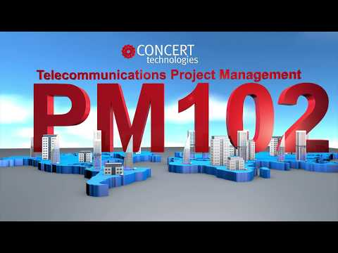 Telecommunications Project Management Course, BICSI PM102, Taught by Concert Technologies