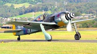 Focke-Wulf Fw 190 at Wings Over Illawarra 2017!